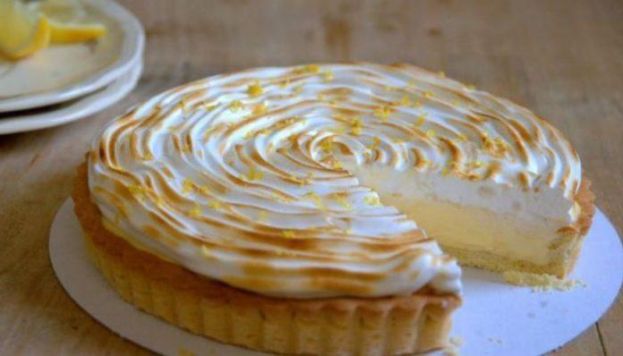 Recettes gâteau citron à la meringue